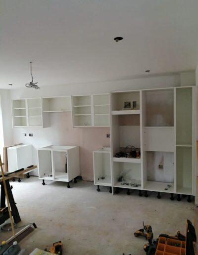 RNR Carpentry - kitchen in progress