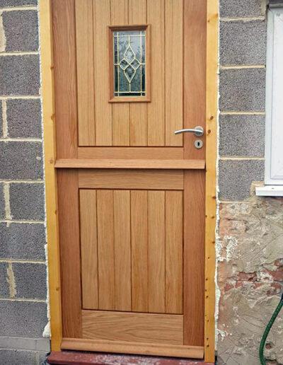 RNR Carpentry - Front door