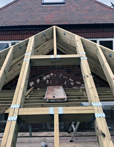 RNR Carpentry - Cut and Truss Roofing